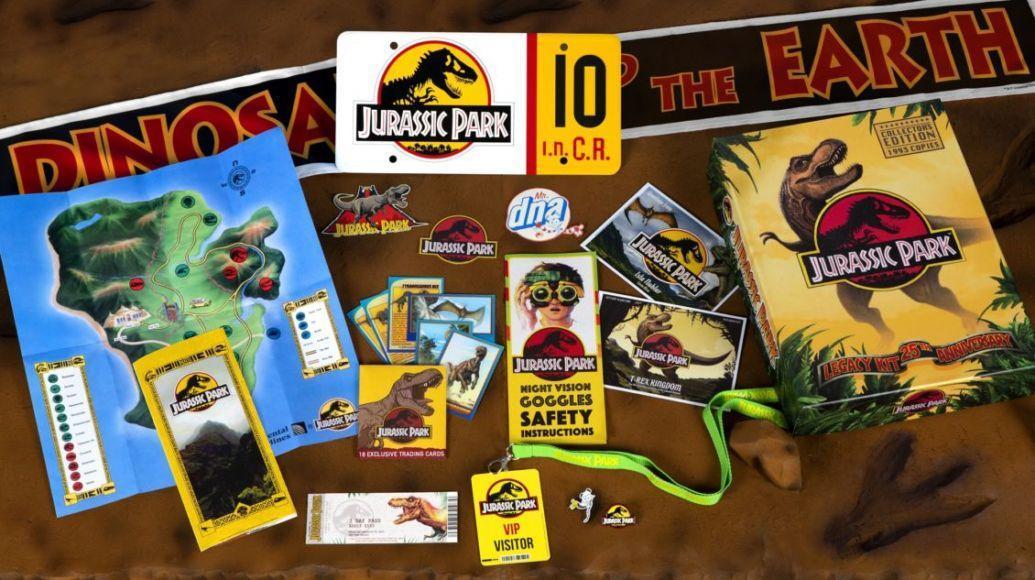 kit di benvenuto di Jurassic Park