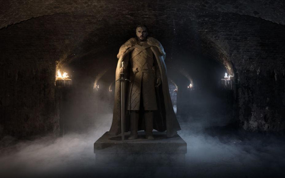 Statua Jon Snow Game of Thrones 8