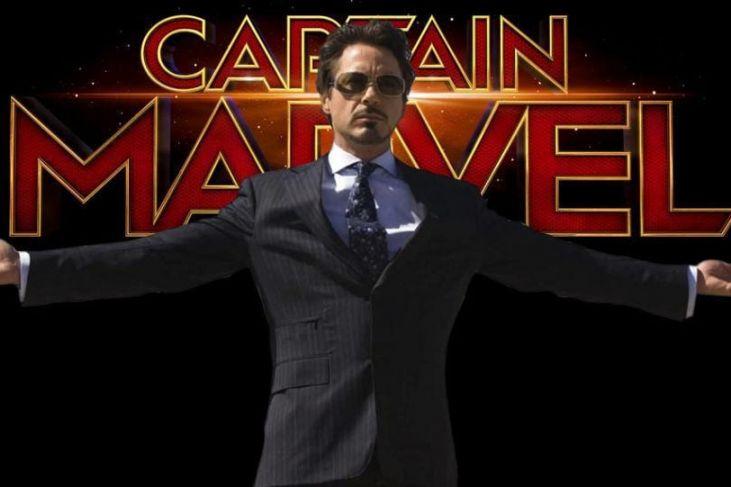 captain marvel tony stark