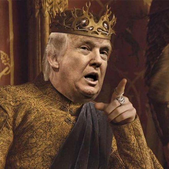 donald trump game of thrones meme