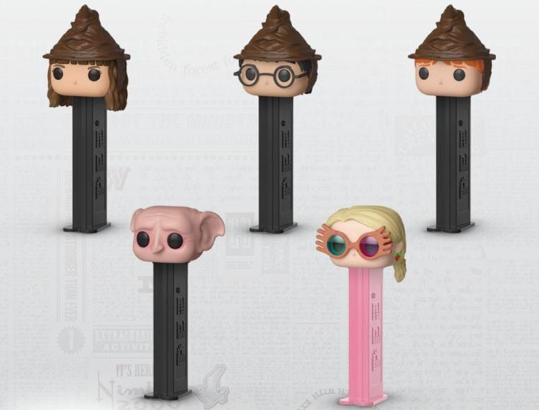 pop pez di harry potter