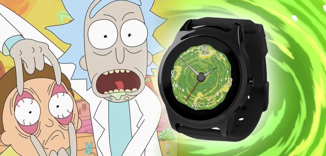 smartwatch ufficiale di Rick e Morty