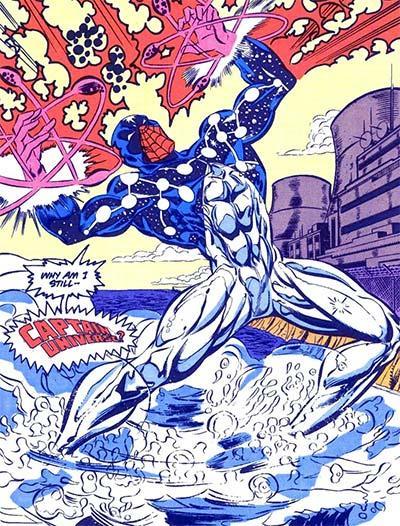Spider-Man Capitan Universo