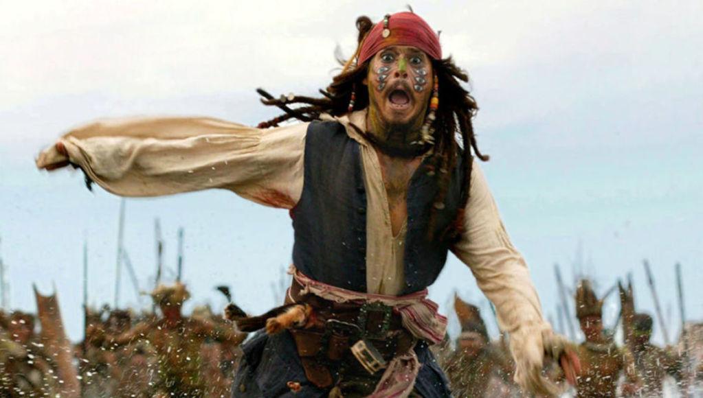 Pirati dei Caraibi Jack Sparrow