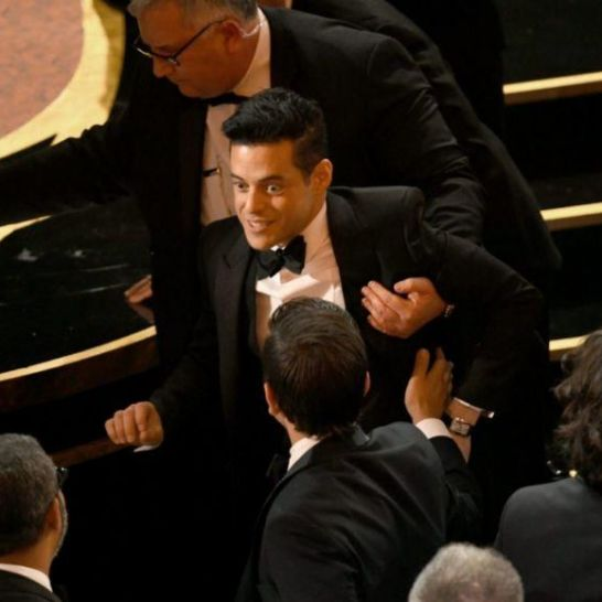Rami Malek Caduta Oscar 2019