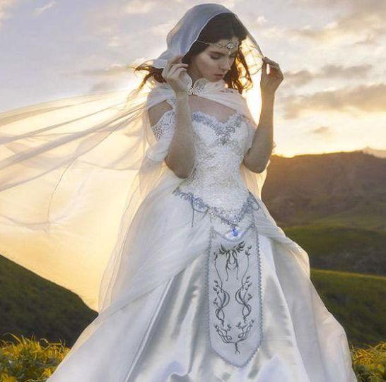 abito da sposa di zelda