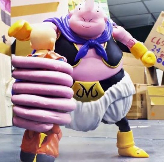 majin bu dragon ball