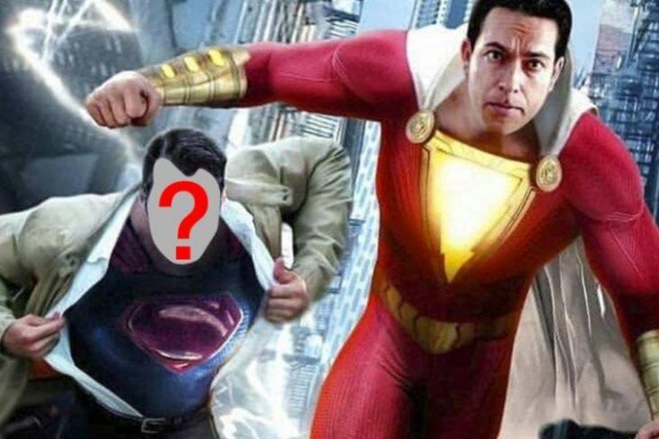 shazam cameo superman