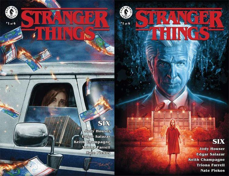 fumetto di Stranger Things introduce Sei