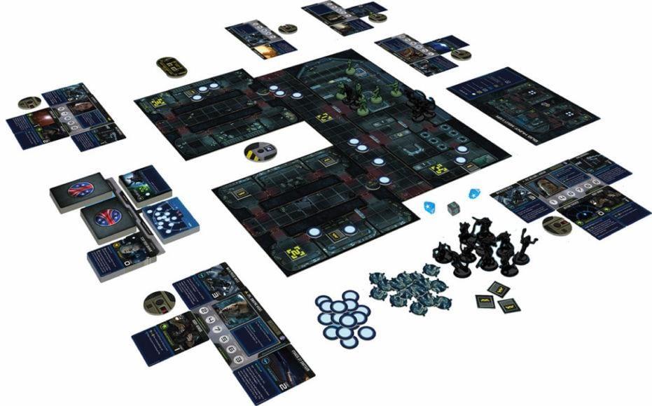 gioco da tavolo di alien