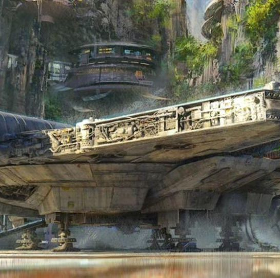Millennium Falcon Star Wars: Galaxy's Edge