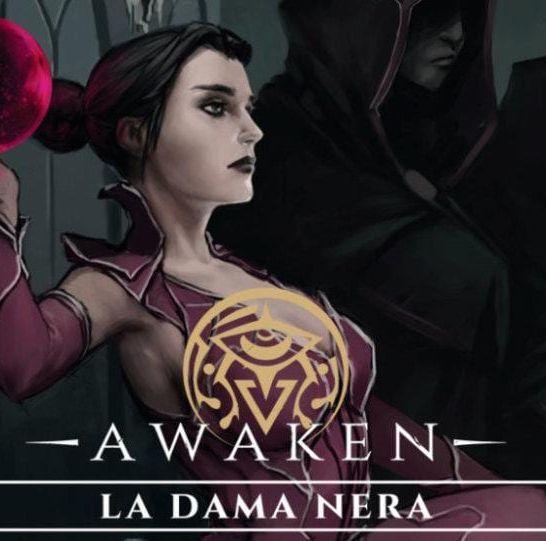 awaken la dama nera