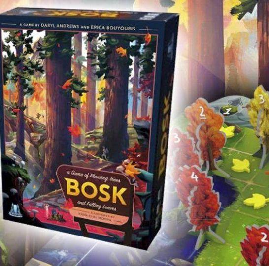 bosk gioco da tavolo