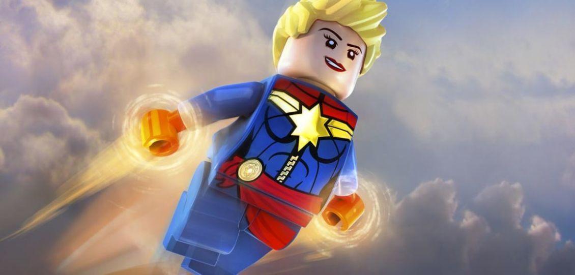 captain marvel lego