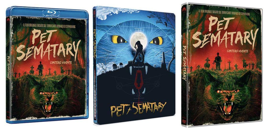 Pet Sematary edizione rimasterizzata Blu-ray e 4k Ultra HD