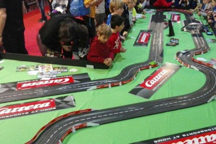 pista carrera toys model expo italy