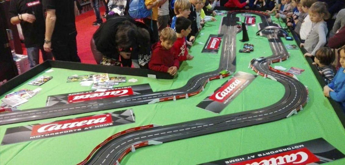 pista carrera toys model expo italy