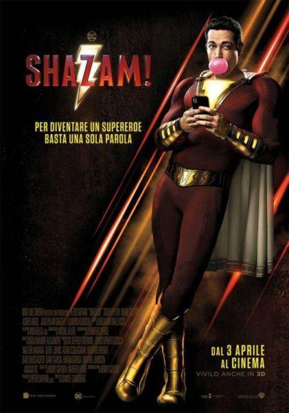 shazam poster italiano
