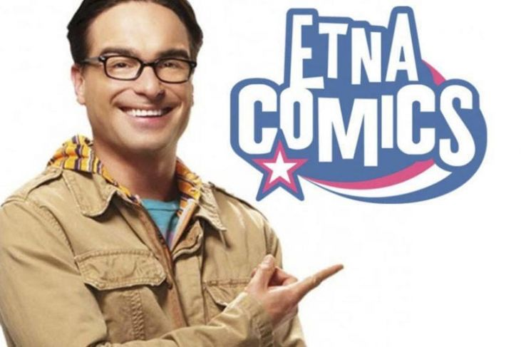 Johnny Galecki Leonard di The Big Bang Theory