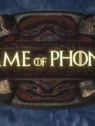 game of phones parodia il trono di spade