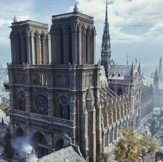 notre dame parigi assassin's creed unity