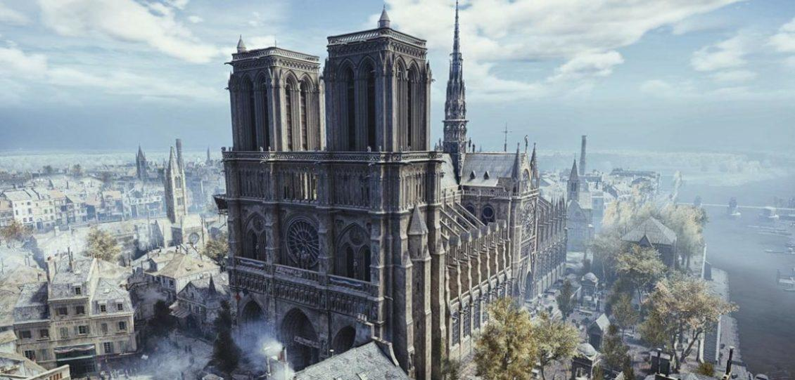 notre dame parigi assassin's creed unity