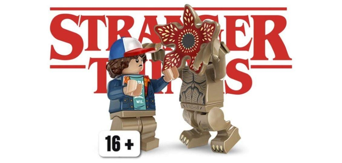 set LEGO di Stranger Things