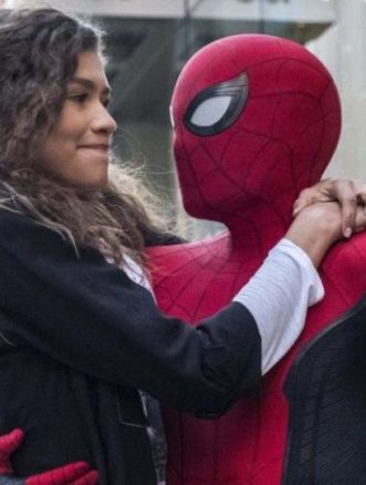 Zendaya tom hollan spider-man