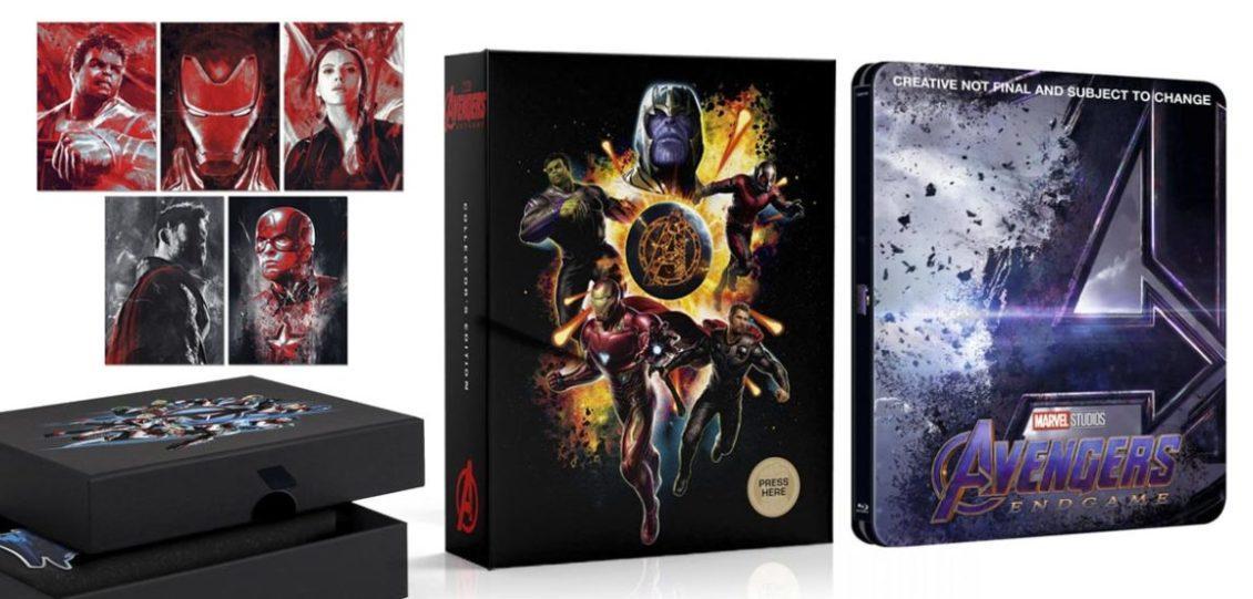 steelbook di Avengers: Endgame