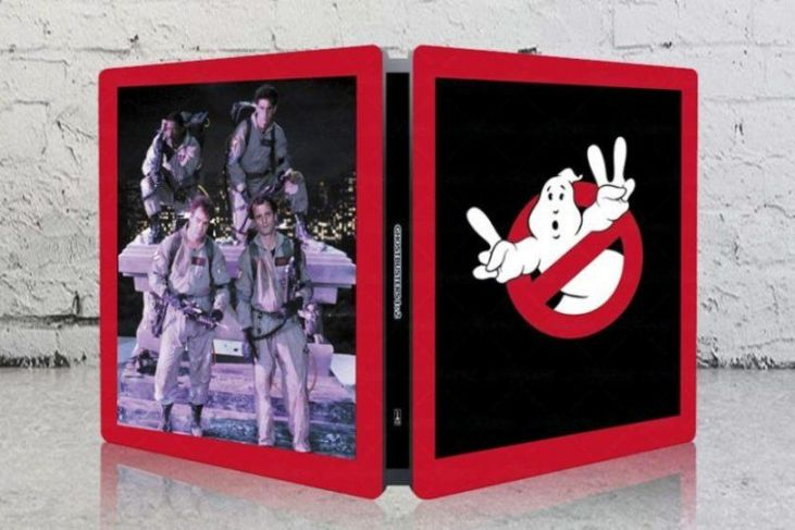 steelbook di ghostbusters 1 e 2