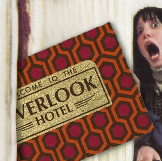 zerbino di shining overlook hotel merchoid