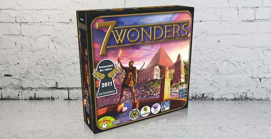 Nuova Italiano Gioco per Due Giocatori 7 Seven Wonders Duel