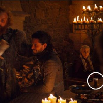 tazza di Starbucks Game of Thrones