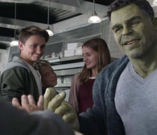 schiocco di Hulk