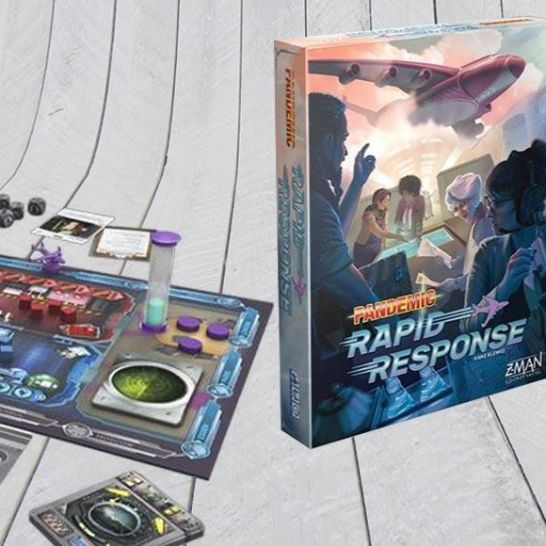 Pandemic: Rapid Response Z-Man