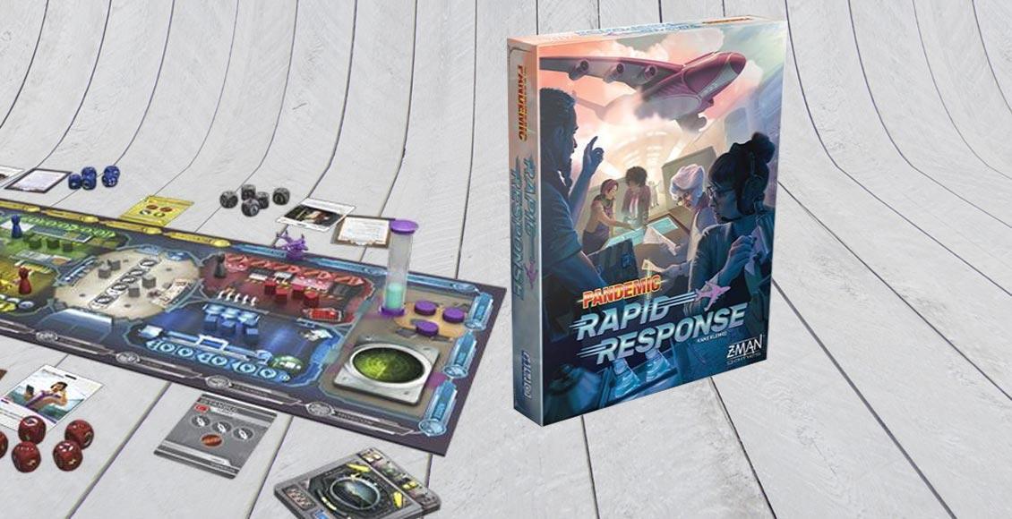 Pandemic: Rapid Response Z-Man