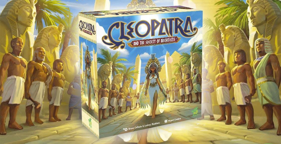 cleopatra e la società degli archietetti