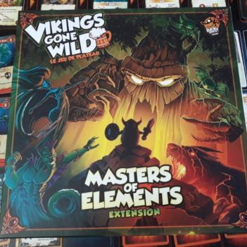 masters of elements cover
