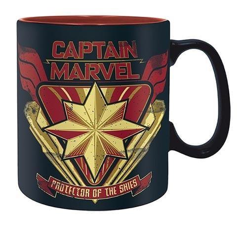 tazza captain marvel