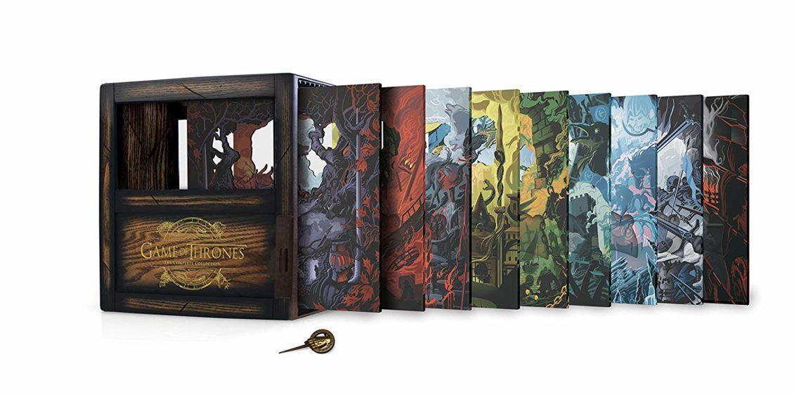 Game of Thrones cofanetto legno