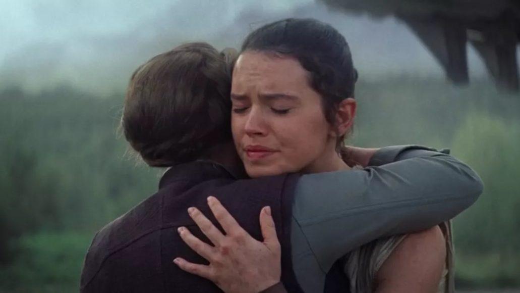 Abbraccio Leia Rey