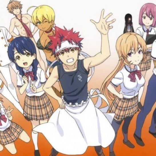 Food Wars manga