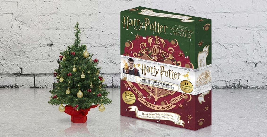 calendario avvento harry potter 2019