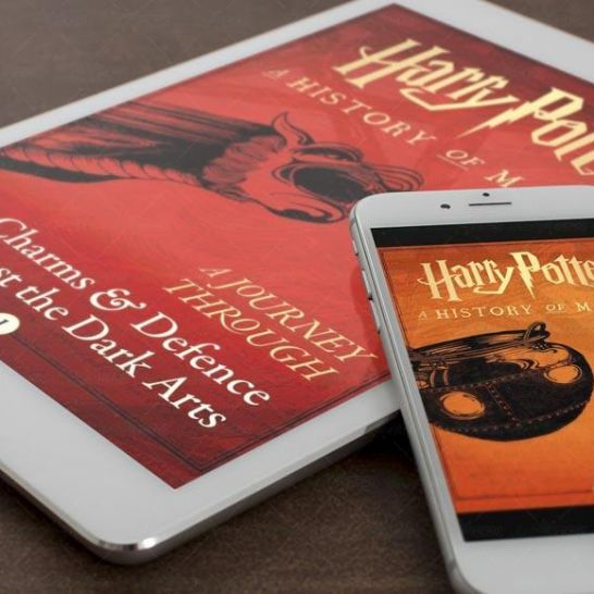 Harry Potter ebook a journey through pottermore