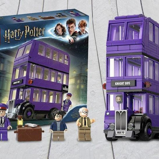 nottetempo LEGO Harry Potter