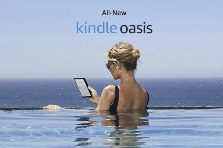 nuovo kindle oasis mac
