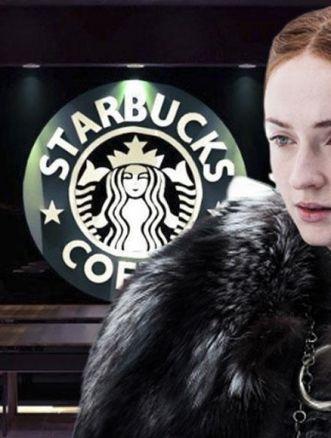 tazza di Starbucks Game of Thrones 8
