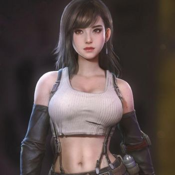 Tifa Lockhart final fantasy 7 remake