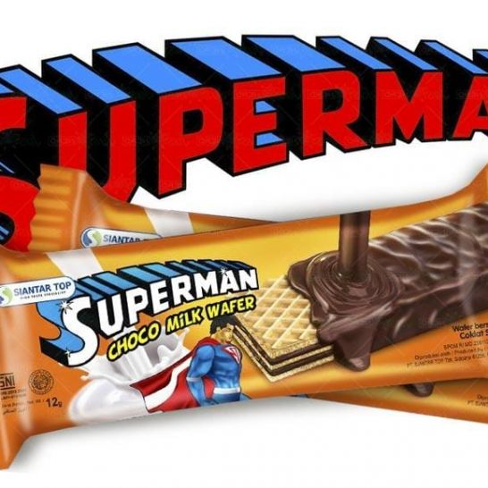 superman wafer