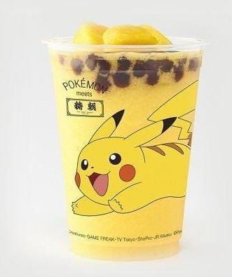 Bubble Tea Pokémon